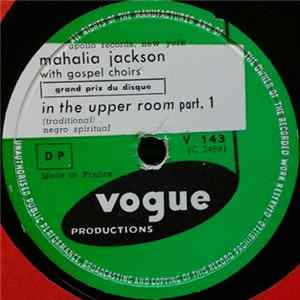 Mahalia Jackson - In The Upper Room (Part 1) / In The Upper Room (Part 2) mp3
