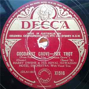 Harry Owens & His Royal Hawaiian Orchestra - Cocoanut Grove / Dreamy Hawaiian Moon mp3