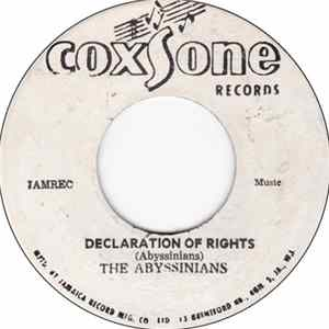 The Abyssinians - Declaration Of Rights mp3